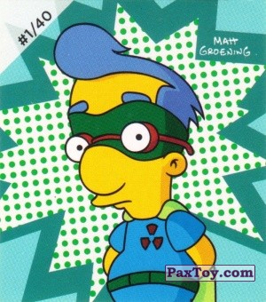 PaxToy.com - #1 / 40 Fall Out Boy из Cheetos: The Simpsons Bartman