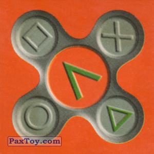 PaxToy.com  Карточка / Card, Пазл / Puzzle 1 Буква Л из Люкс Чипсы: Акция выиграй PlayStation
