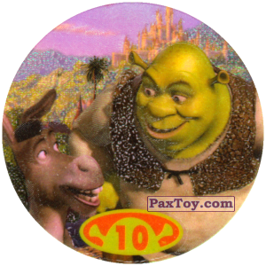 PaxToy.com - 10 - 20 points - Shrek & Donkey из Cheetos: Shrek 2 (20 штук)
