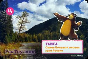 PaxToy.com - 14 МИША И ТАЙГА из Пеликан: Маша и Медведь - Большое путешествие по стране!