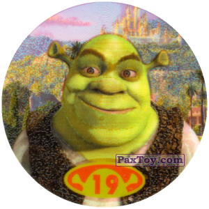 PaxToy.com - 19 - 25 points - Shrek из Cheetos: Shrek 2 (20 штук)