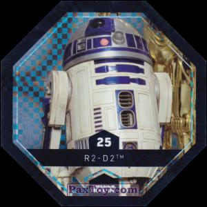PaxToy.com - 25 R2-D2 из Магнит: Космо-Жетоны (Cosmic Shells)