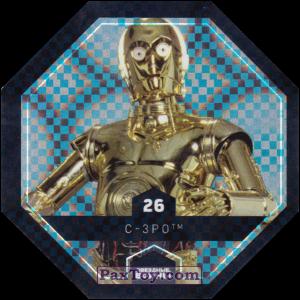 PaxToy.com - 26 C-3PO из Магнит: Космо-Жетоны (Cosmic Shells)