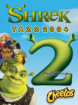PaxToy Cheetos   Shrek 2 2004 tazo tax logo
