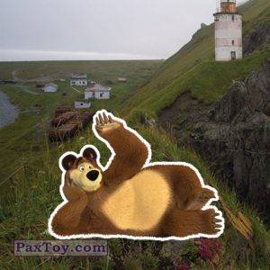 PaxToy slider 20 ВИКТОРИЯ Магнит   Маша и Медведь ОХОТСК
