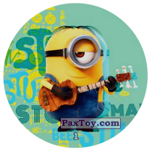 PaxToy.com - 01 STUART THE MINION из Chipicao: Minions