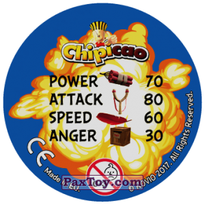 PaxToy.com - 01 The Mighty (Сторна-back) из Chipicao: Angry Birds 2017