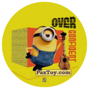PaxToy.com - 02 OVER CONFIDENT из Chipicao: Minions