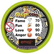 PaxToy.com - 02 MONKEY в очках (Сторна-back) из Chipicao: EMOJI