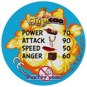 PaxToy.com - 02 BOMB (Сторна-back) из Chipicao: Angry Birds 2017
