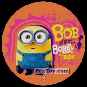 PaxToy.com - 03 BOB ROBERT BOBBY RAY BOY из Chipicao: Minions
