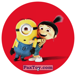 PaxToy.com - 03 STUART THE MINION AND AGNES из Chipicao: Despicable Me 3