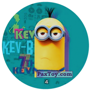 PaxToy.com - 04 KEV KEV-B 7th KEVIN из Chipicao: Minions