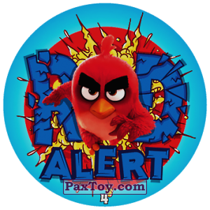 PaxToy.com - 04 RED ALERT из Chipicao: Angry Birds 2017