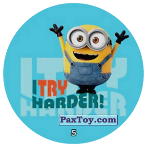 PaxToy.com - 05 I TRY HARDER! из Chipicao: Minions