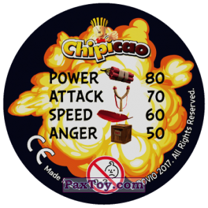 PaxToy.com - 05 BETTER! FASTER! ANGRIER! (Сторна-back) из Chipicao: Angry Birds 2017