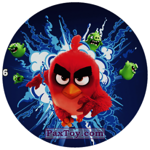 PaxToy.com - 06 Red Bird из Chipicao: Angry Birds 2017