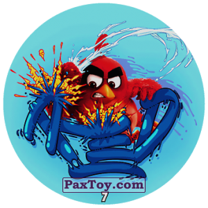 PaxToy.com - 07 Red Bird Fire из Chipicao: Angry Birds 2017