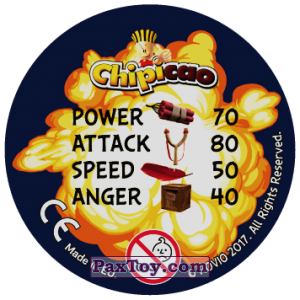 PaxToy.com - 08 WHY SSO ANGRY (Сторна-back) из Chipicao: Angry Birds 2017
