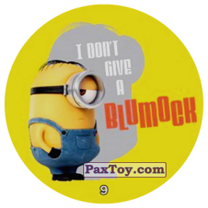 PaxToy.com - 09 I DONT GIVE A BLUMOCK из Chipicao: Minions