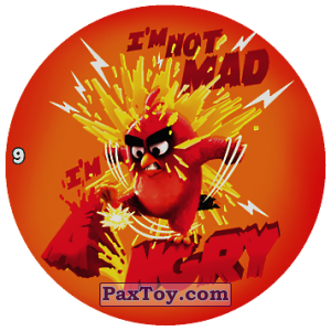 PaxToy.com - 09 IM NOT MAD ANGRY из Chipicao: Angry Birds 2017