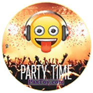 PaxToy.com - 09 Смайлик DJ - PARTY TIME из Chipicao: EMOJI