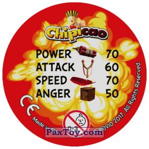 PaxToy.com - 09 IM NOT MAD ANGRY (Сторна-back) из Chipicao: Angry Birds 2017
