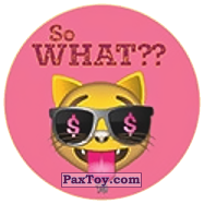 PaxToy.com - 10 Коте - So WHAT?? из Chipicao: EMOJI