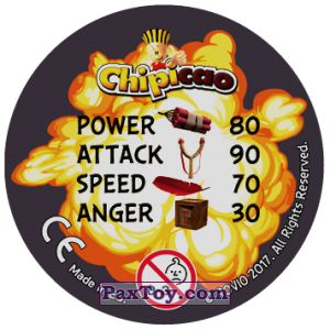 PaxToy.com - 10 Bomb (Сторна-back) из Chipicao: Angry Birds 2017