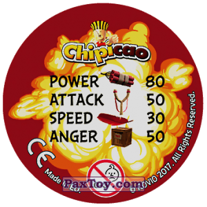 PaxToy.com - 11 TICK TICK BOOM (Сторна-back) из Chipicao: Angry Birds 2017