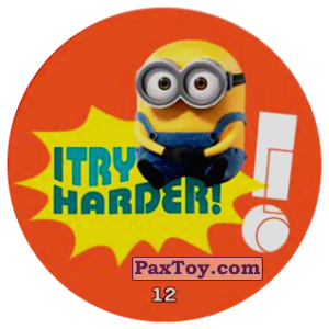PaxToy.com - 12 I TRY HARDER! из Chipicao: Minions