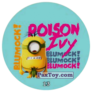 PaxToy.com - 13 BLUMOCK! POISON IVY из Chipicao: Minions