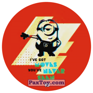 PaxToy.com - 13 IVE GOT MOVES YOU VE NEVER SEEN из Chipicao: Despicable Me 3