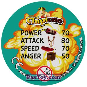 PaxToy.com - 13 Trio (Сторна-back) из Chipicao: Angry Birds 2017