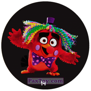 PaxToy.com - 14 Red clown из Chipicao: Angry Birds 2017