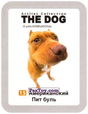 PaxToy.com - 15 Американский Пит буль из Cheetos: THE DOG: Artlist Collection
