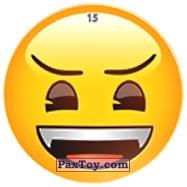 PaxToy.com - 15 Бдительный Смайлик из Chipicao: EMOJI