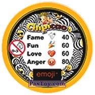 PaxToy.com - 15 Бдительный Смайлик (Сторна-back) из Chipicao: EMOJI