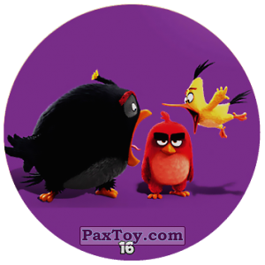 PaxToy.com - 16 Bomb and Red and Chuck из Chipicao: Angry Birds 2017