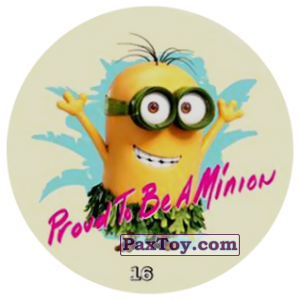 PaxToy.com - 16 Proud To Be A Minion из Chipicao: Minions