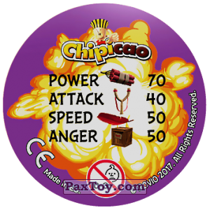 PaxToy.com - 16 Bomb and Red and Chuck (Сторна-back) из Chipicao: Angry Birds 2017