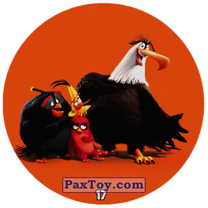 PaxToy.com - 17 Bomb and Red and Chuck and Mighty Eagle из Chipicao: Angry Birds 2017