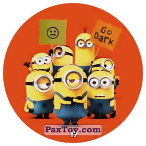 PaxToy.com - 17 MINIONS - GO DARK из Chipicao: Despicable Me 3