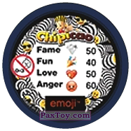 PaxToy.com - 17 Смайлик огорчен (Сторна-back) из Chipicao: EMOJI