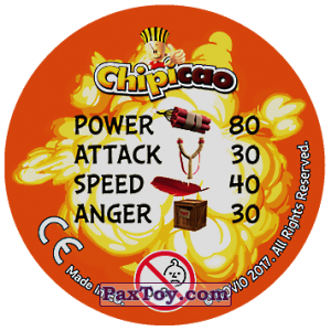 PaxToy.com - 17 Bomb and Red and Chuck and Mighty Eagle (Сторна-back) из Chipicao: Angry Birds 2017