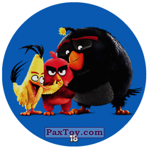 PaxToy.com - 18 Chuck and Red and Bomb из Chipicao: Angry Birds 2017