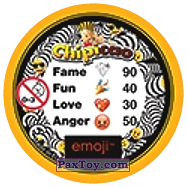 PaxToy.com - 18 Прелесный Смайлик (Сторна-back) из Chipicao: EMOJI