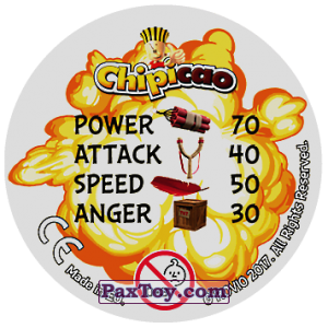 PaxToy.com - 19 Blues (Сторна-back) из Chipicao: Angry Birds 2017