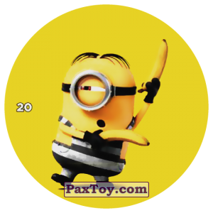PaxToy.com - 20 DAVE PRISONER из Chipicao: Despicable Me 3