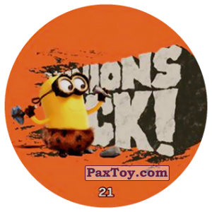 PaxToy.com - 21 MINIONS ROCK! из Chipicao: Minions